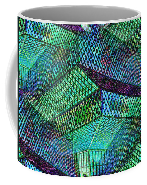 Seattle Coffee Mug featuring the photograph Library Angles by Tim Allen