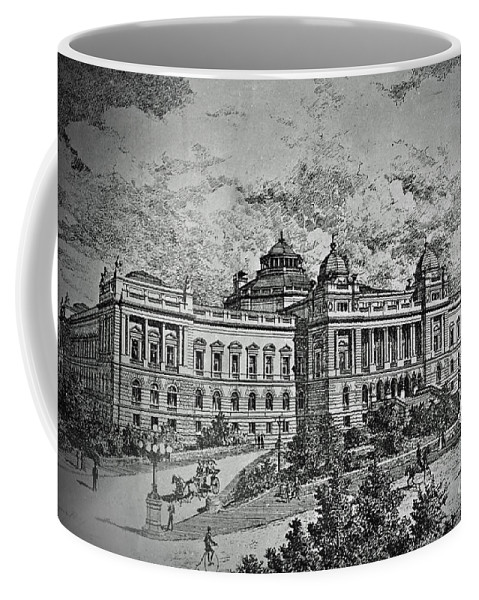 Library Coffee Mug featuring the photograph Library Of Congress Proposal 5 by Jost Houk
