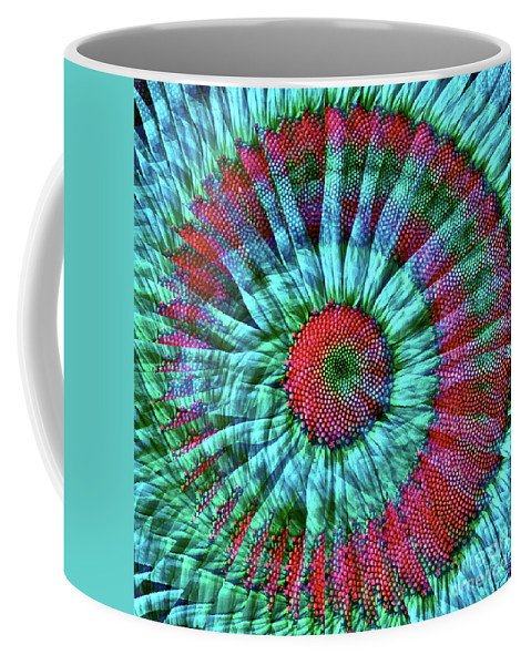Daisy Coffee Mug featuring the photograph Life As A Daisy by Gwyn Newcombe