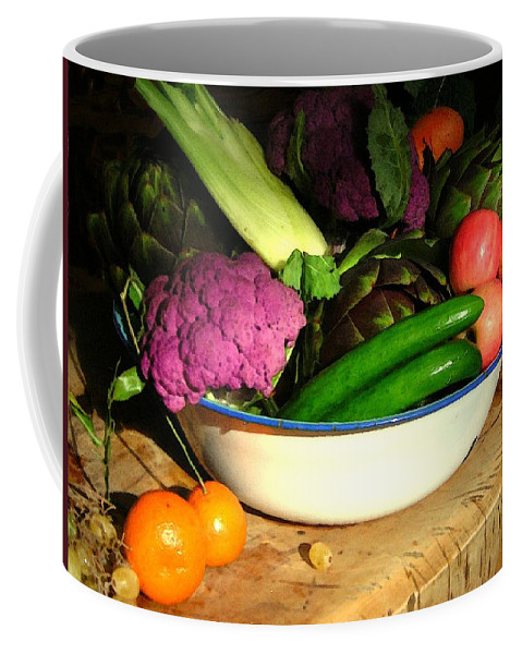 Still Life Coffee Mug featuring the photograph Life From The Garden New Mexico Kitchen Palette I by Anastasia Savage Ealy