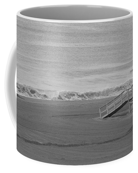 Beaches Coffee Mug featuring the photograph Life Guard Stand by Shari Chavira