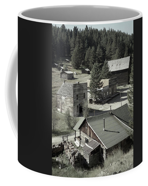 Ghost Towns Coffee Mug featuring the photograph Life In A Ghost Town by Richard Rizzo