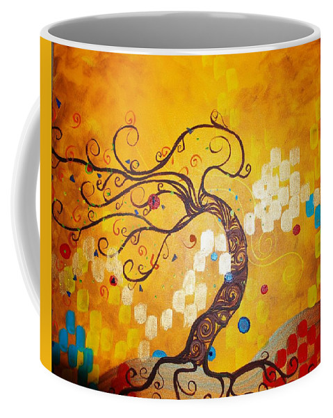 Coffee Mug featuring the painting Life is a Ball by Stefan Duncan