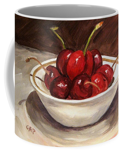 Contemporary Realism Coffee Mug featuring the painting Life is just a.... by Cheryl Pass