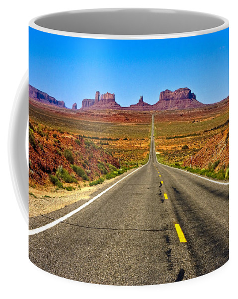 Landscape Coffee Mug featuring the photograph Life Is Like A Bowl Of Chocolet Covered Cherries. by Ches Black