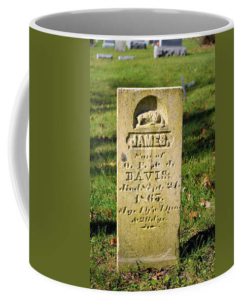 Grave Coffee Mug featuring the photograph Life Is Too Short by Bonfire Photography