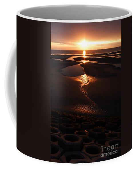 Blackpool Coffee Mug featuring the photograph Life On Mars by Angel Ciesniarska