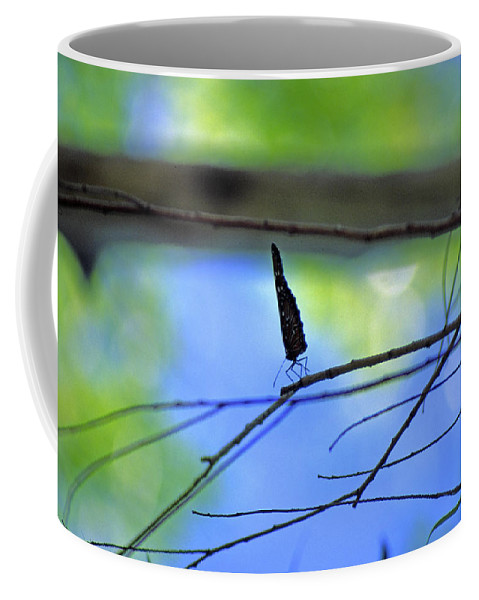 Butterfly Coffee Mug featuring the photograph Life on the Edge by Randy Oberg