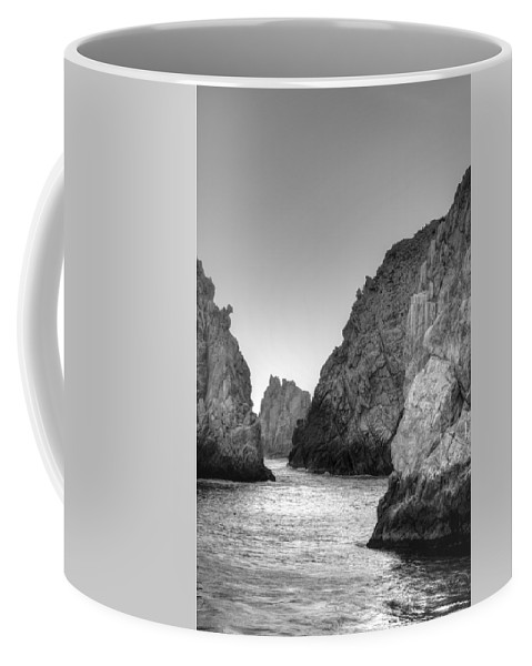 Rocks Coffee Mug featuring the photograph Life On The Rocks by Bill Hamilton