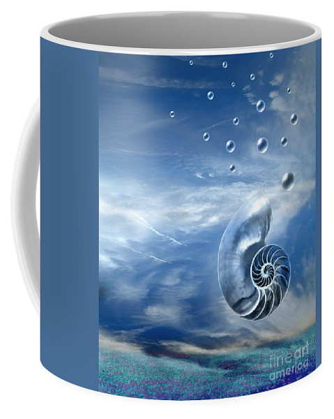 Surreal Coffee Mug featuring the photograph Life by Jacky Gerritsen