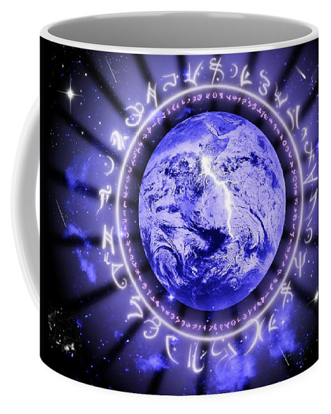 Life Coffee Mug featuring the digital art Life by Rhonda Barrett