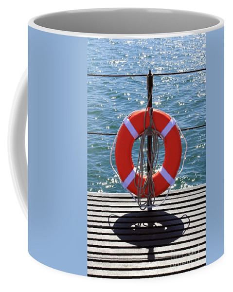Submarines Coffee Mug featuring the photograph Life Saver by Jennifer Robin