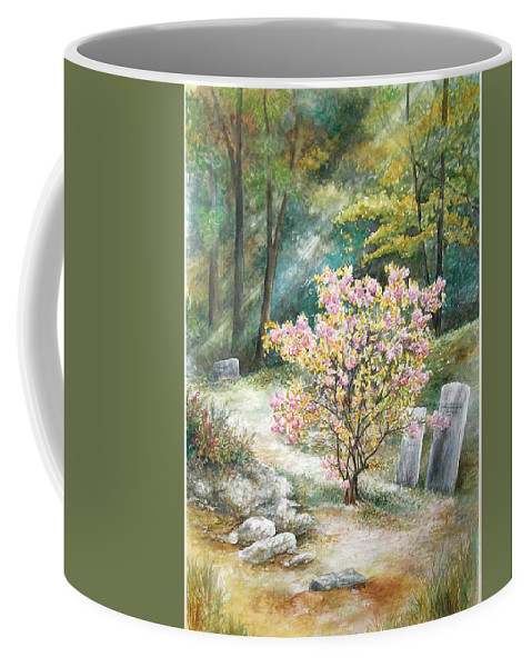 Landscape Coffee Mug featuring the painting Life by Valerie Meotti