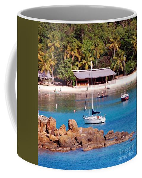 Beach Coffee Mug featuring the photograph Lifes A Beach by Debbi Granruth