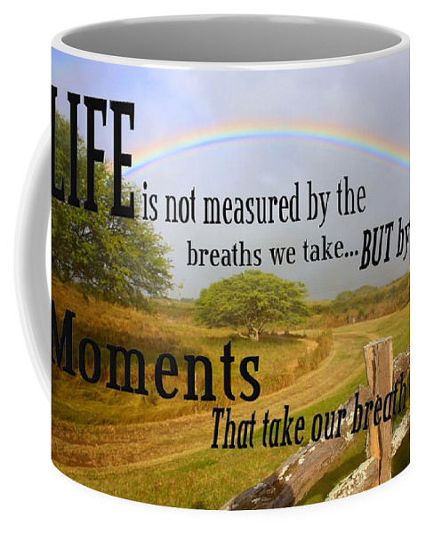 Life Coffee Mug featuring the photograph Life's Moments by DJ Florek