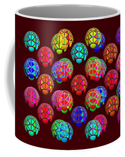 Wrapping Paper Coffee Mug featuring the painting Lift Wrapper by Charles Stuart