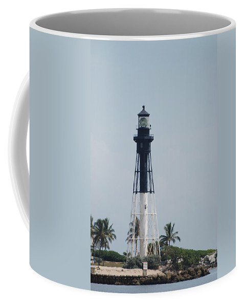 Landscape Coffee Mug featuring the photograph Light House by Rob Hans