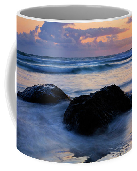 Lighthouse Coffee Mug featuring the photograph Light Of Dusk by Mike Dawson
