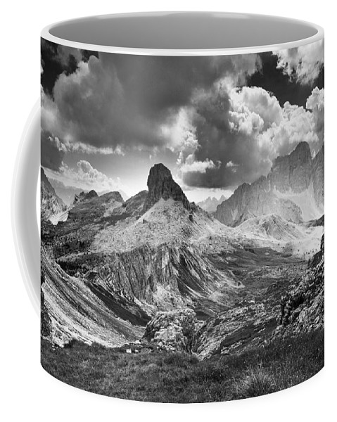 Light On Valley Coffee Mug featuring the photograph Light On The Valley by Yuri San