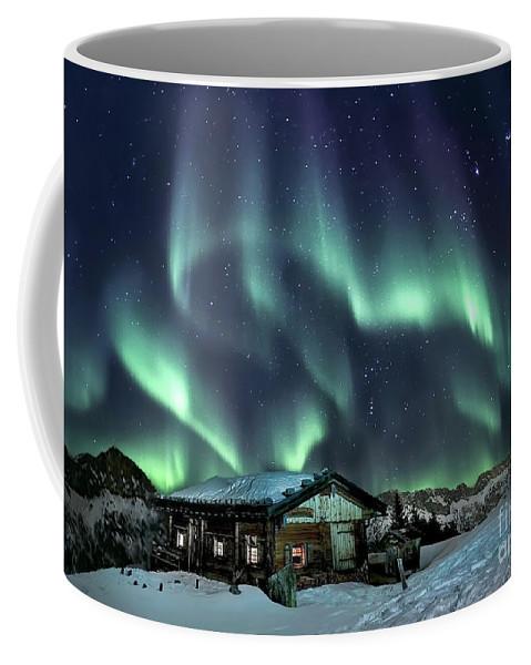 Kremsdorf Coffee Mug featuring the photograph Light Through The Night by Evelina Kremsdorf