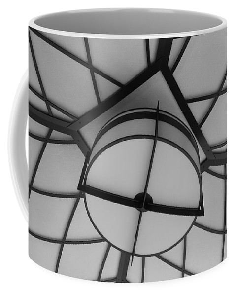 Architecture Coffee Mug featuring the photograph Lighted Box by Rob Hans