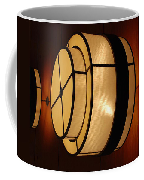 Pop Art Coffee Mug featuring the photograph Lighted Wall by Rob Hans