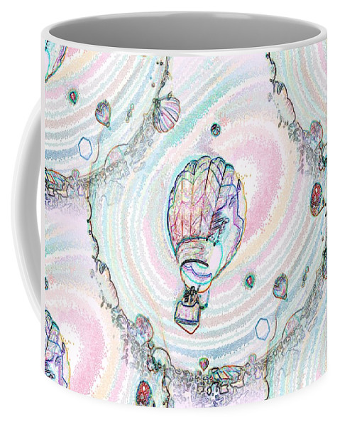 Balloons Coffee Mug featuring the photograph Lighter Than Air by Tim Allen