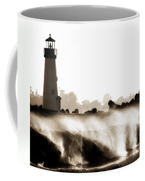Lighthouse Coffee Mug featuring the photograph Lighthouse 3 Dreamy by Marilyn Hunt