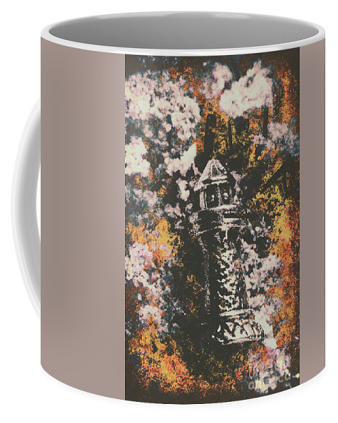 Lighthouse Coffee Mug featuring the photograph Lighthouse From Rust Harbour by Jorgo Photography - Wall Art Gallery