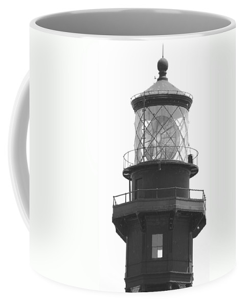 Landscape Coffee Mug featuring the photograph Lighthouse Light by Rob Hans