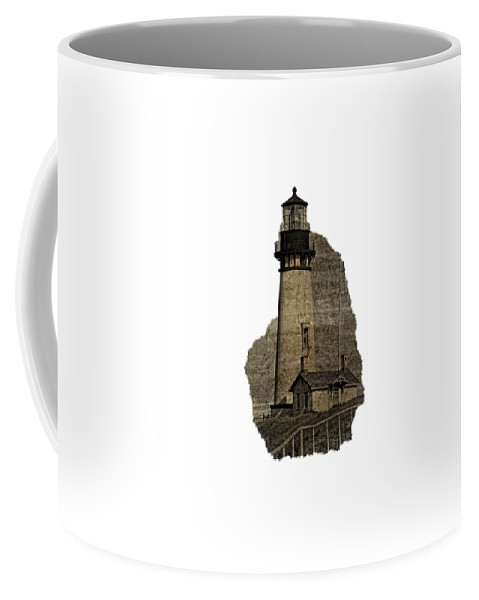 Newport Coffee Mug featuring the photograph Lighthouse Of Old by Image Takers Photography LLC - Laura Morgan