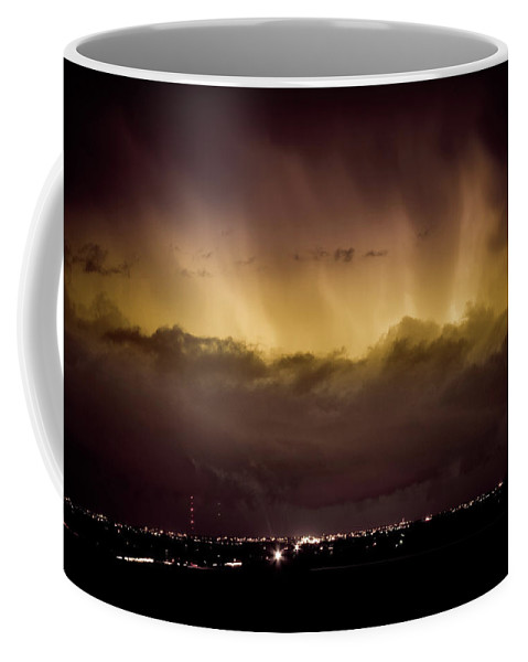 bo Insogna Coffee Mug featuring the photograph Lightning Cloud Burst Boulder County Colorado Im29 by James BO Insogna