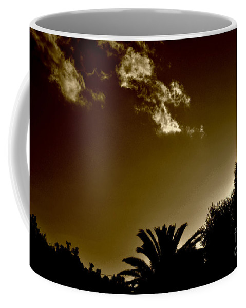 Clay Coffee Mug featuring the photograph Lights by Clayton Bruster