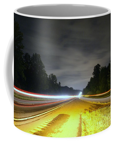 Landscape Coffee Mug featuring the photograph Lightworks by Alex Grichenko