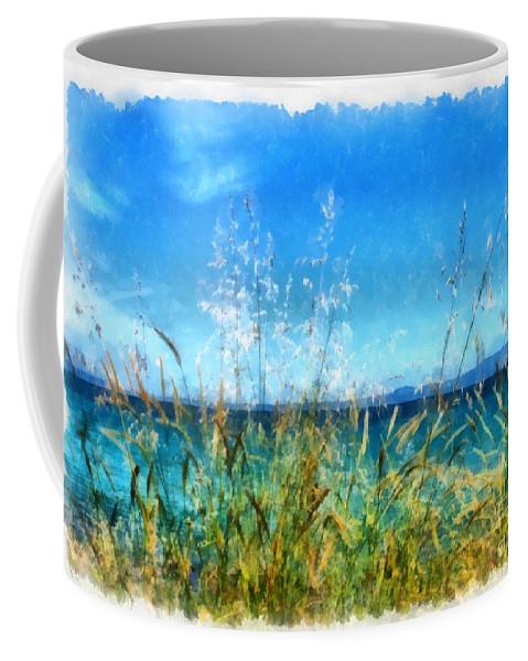 Seascape Coffee Mug featuring the photograph Like A Dream by Mary Papadopoulou