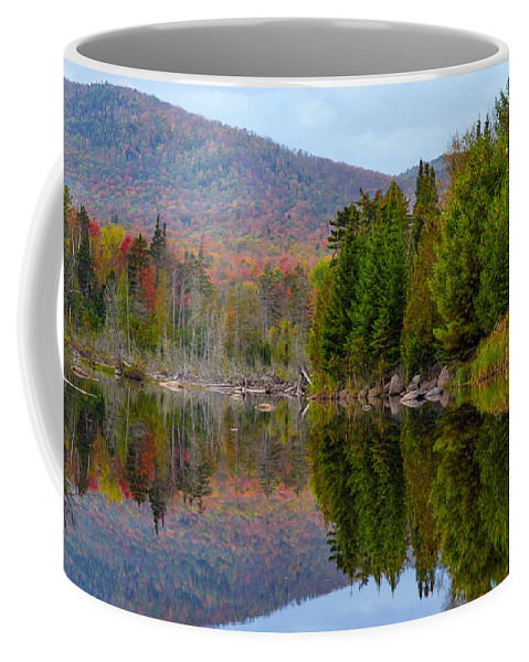 Reflection Coffee Mug featuring the photograph Like A Mirror by Mark Papke