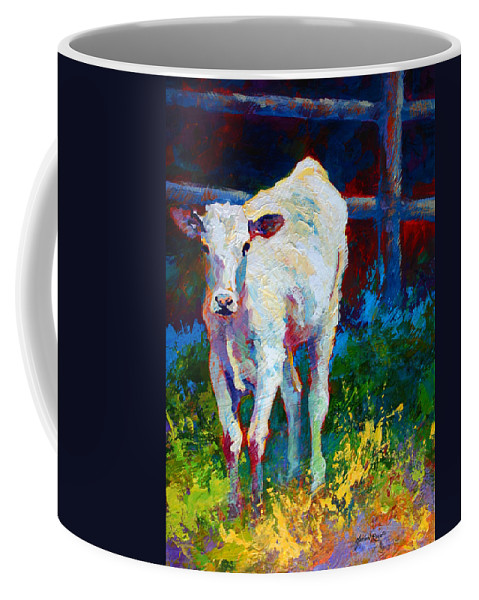 Western Coffee Mug featuring the painting Like My Daddy by Marion Rose