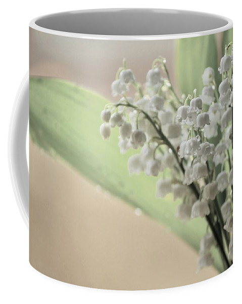 Lily Of The Valley Coffee Mug featuring the photograph Lilies Of The Valley 2 by Malgorzata Wryk-Igras