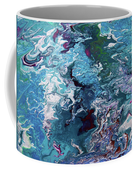 Fusionart Coffee Mug featuring the painting Lilies by Ralph White