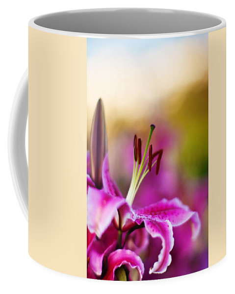 Lily Coffee Mug featuring the photograph Lily Impression by Mike Reid