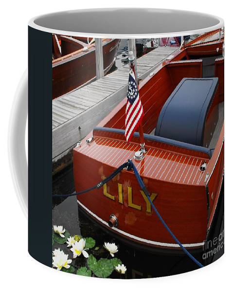 Chris Craft Coffee Mug featuring the photograph Lily by Neil Zimmerman