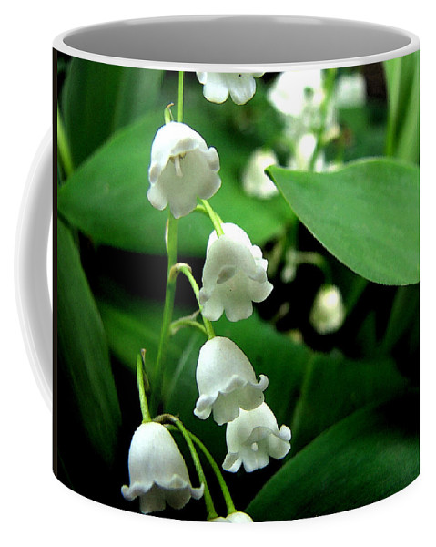 Flower Coffee Mug featuring the photograph Lily Of The Valley by Michelle Calkins