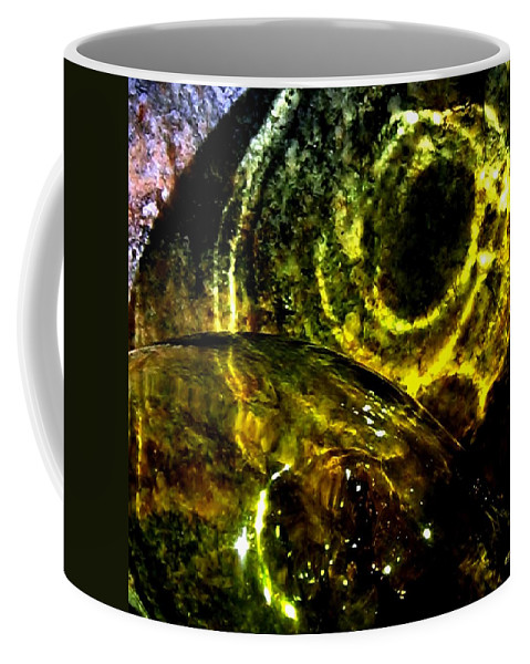 Glass Ball Coffee Mug featuring the photograph Limelight by Will Borden
