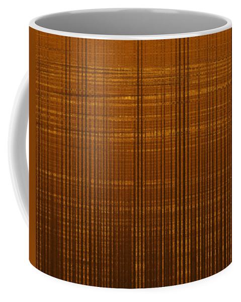 Coffee Mug featuring the digital art Linear Ripples 148 by Tim Sladek
