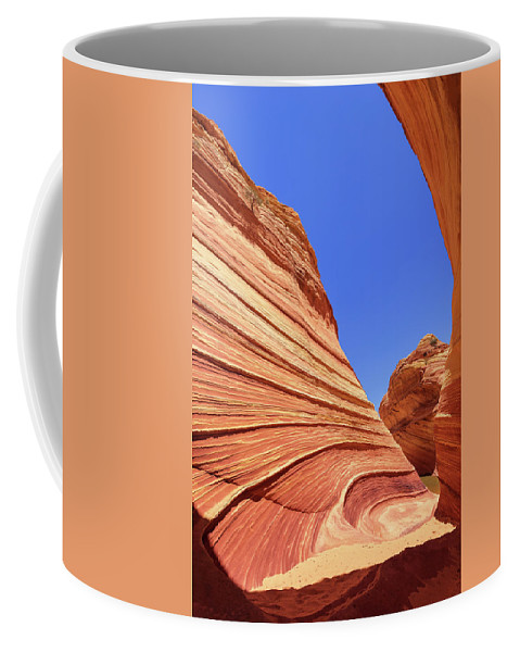 Lines Coffee Mug featuring the photograph Lines by Chad Dutson