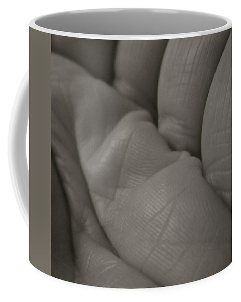 Lines Coffee Mug featuring the photograph Lines by Gwyn Newcombe