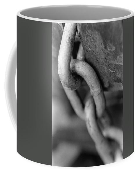 Chain Coffee Mug featuring the photograph Linked by Jeffery Ball