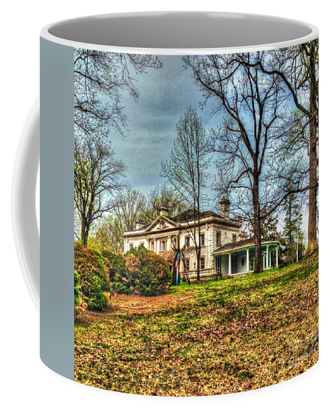 Liriodendron Coffee Mug featuring the photograph Liriodendron Mansion by Debbi Granruth