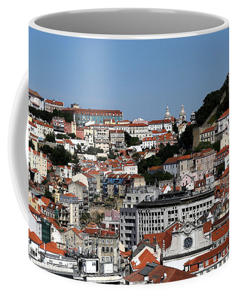 Lisbon Coffee Mug featuring the photograph Lisbon 18 by Andrew Fare