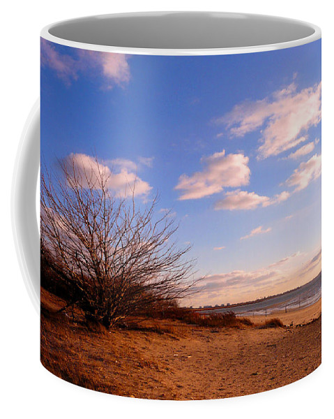 Landscape Coffee Mug featuring the photograph Listen To The Quiet by Kendall Eutemey